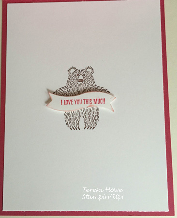 Stampin' Up!  Bear Hugs