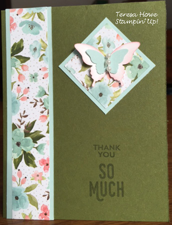 Stampin' Up!, Birthday Bouquet, Perfect Pairings