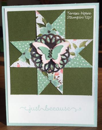 SU! Birthday Bouquet DSP, Dozen Thoughts, OSW