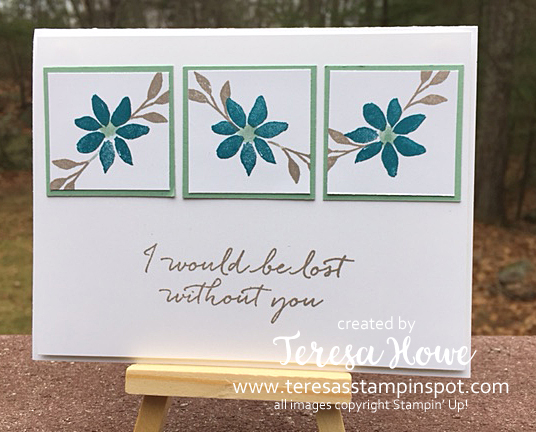 Stampin' Up! SU! Blooms & Wishes