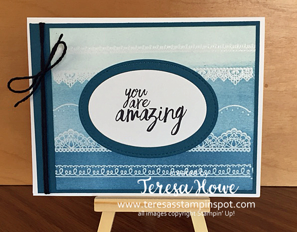 Stampin' Up! SU! All Things Thanks, Delicate Details