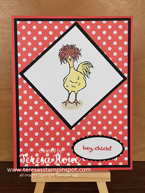 Stampin' Up! SU! Hey Chick