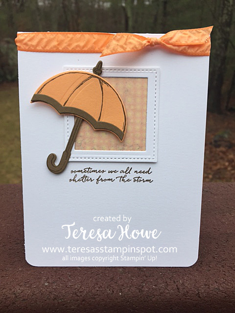 Stampin' Up! SU! Weather Together