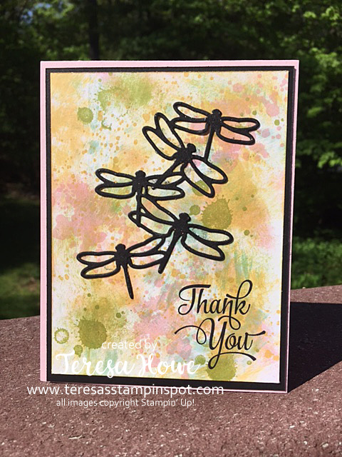 Stampin' Up! SU! One Big Meaning, Dragonfly Dreams, Gorgeous Grunge