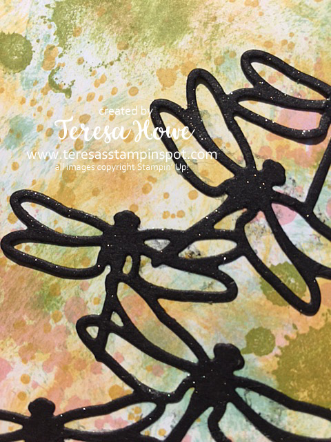 Stampin' Up! SU! Gorgeous Grunge, One Big Meaning, Dragonfly Dreams