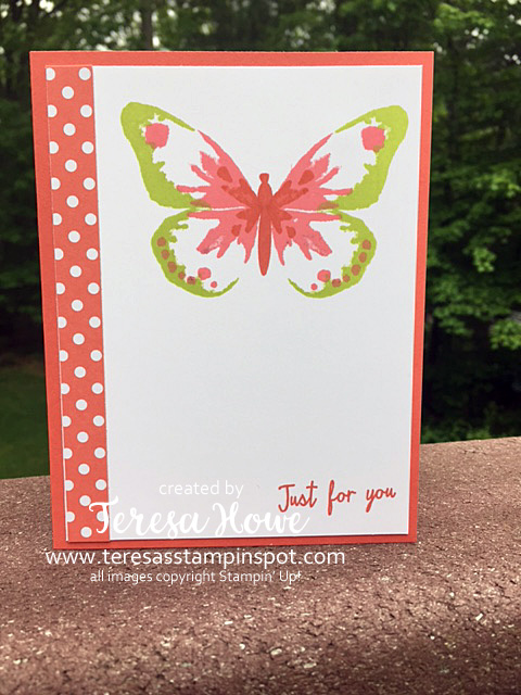 Stampin' Up! SU! Watercolor Wings
