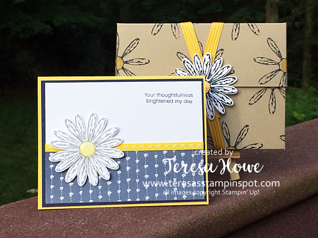 Stampin' Up! SU! Daisy Delight, Card Box