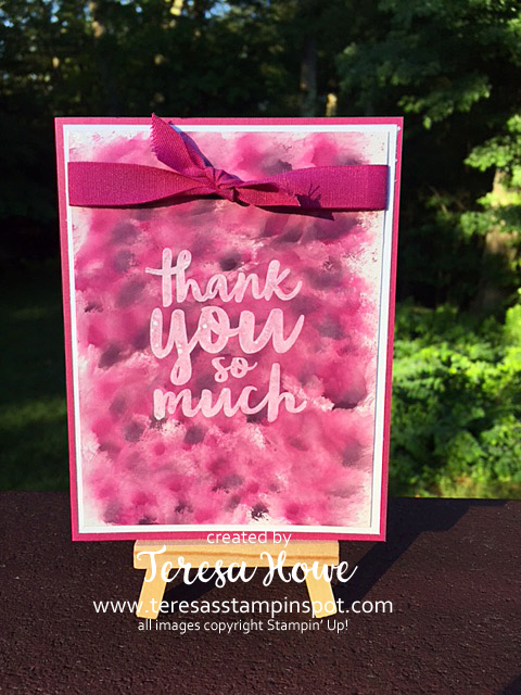Stampin' Up! SU! Thankful Thoughts, Polished Stone, 2017-2019 In Colors