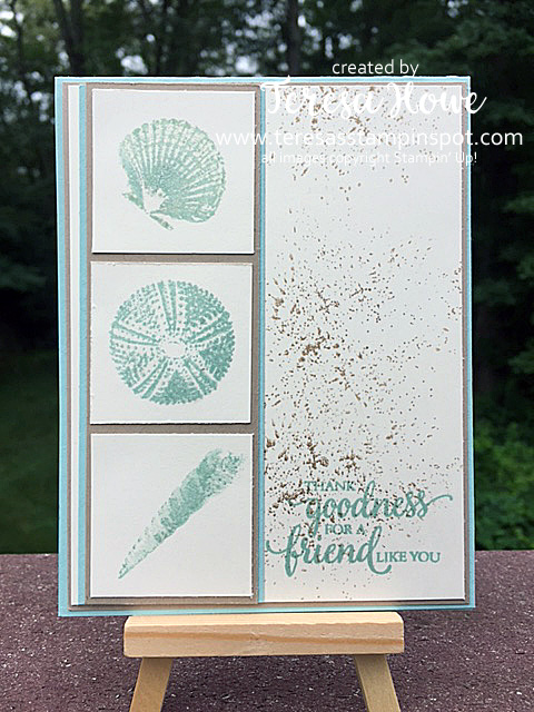 So Many Shells, Timeless Textures, SU! Stampin' Up!