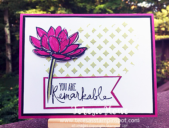 Remarkable You, Embossing Paste, Pattern Party Masks, SU!, Stampin' Up!