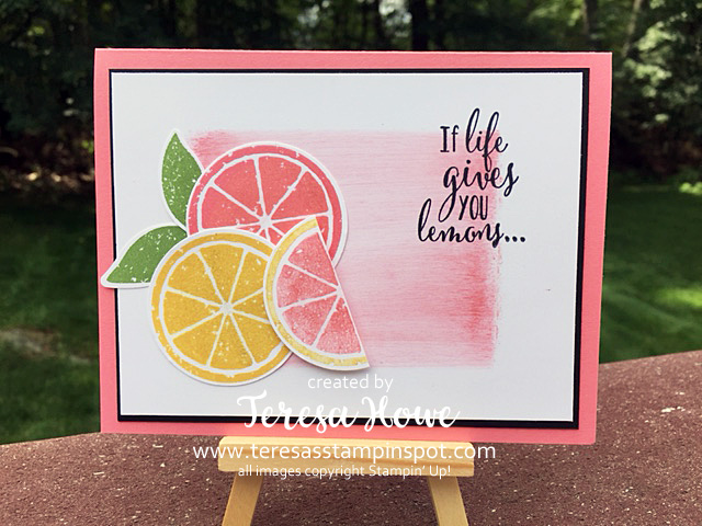 Lemon Zest, Summer, SU!, Stampin' Up!, Cards, DIY