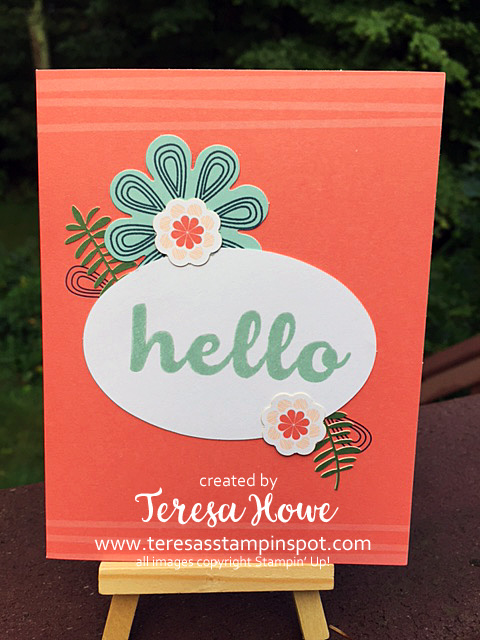 Hello Friend, Giftable Greetings, Stampin' Up!, SU!