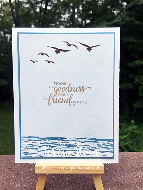 High Tide, So Many Shells, Stampin' Up!, SU!, Occasions