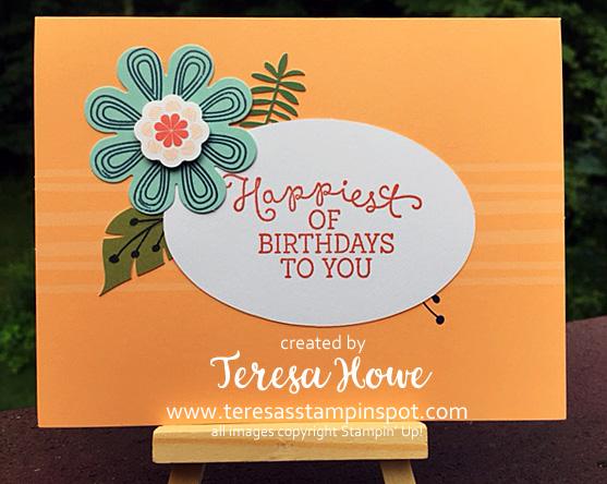 Birthday Blooms, Giftable Greetings, Paper Pumpkin, Stampin' Up!, SU!