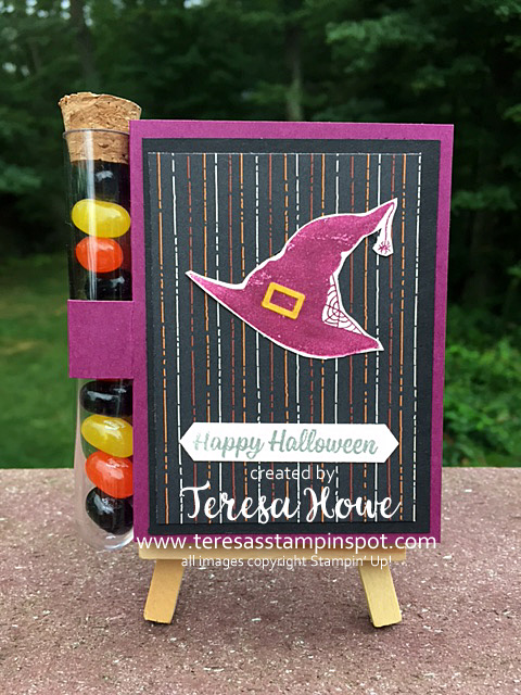 Halloween, Treat Holder, Spooky Cat, Witch, Stampin' Up!, SU!