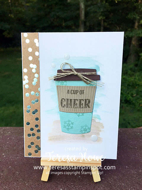 Merry Cafe, Coffee, Winter, Birthday, Stampin' Up!, SU!