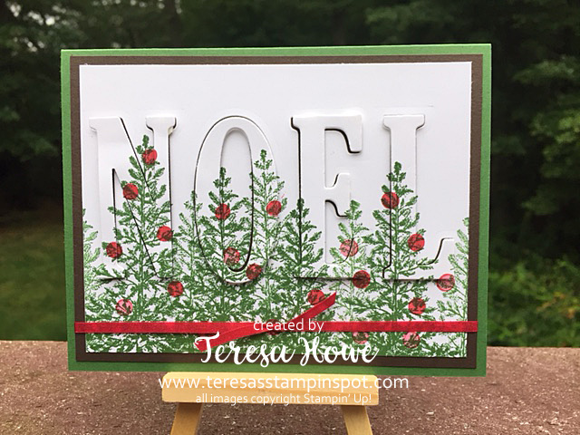 Lovely As A Tree, Holly Berry Happiness, Christmas, Eclipse, Stampin' Up!, SU!