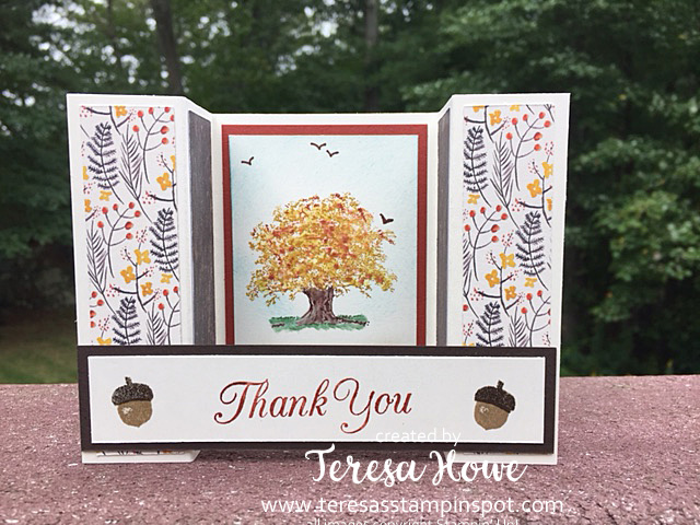 Lovely as a Tree, StampItHop, Fall, Painted Autumn, Stampin' Up!, SU!