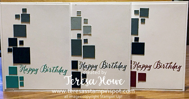 Masculine, Birthday, Feather Together, Stampin' Up!, SU!