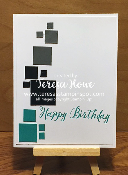 Masculine, Birthday, CAS, Feather Together, Stampin' Up, SU!