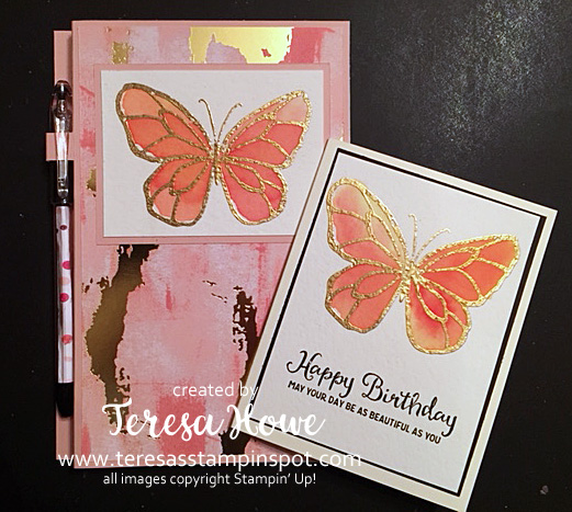 Jr Legal Pad Cover, Brushos, Beautiful Day, Stampin' Up!, SU!