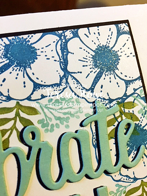 Glitter, Amazing You, Flowers, Celebrate You, Stampin' Up!, SU!, SAB2018