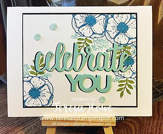 Celebrate, Occasions, Flowers, Stampin' Up!, SU!, SAB2018