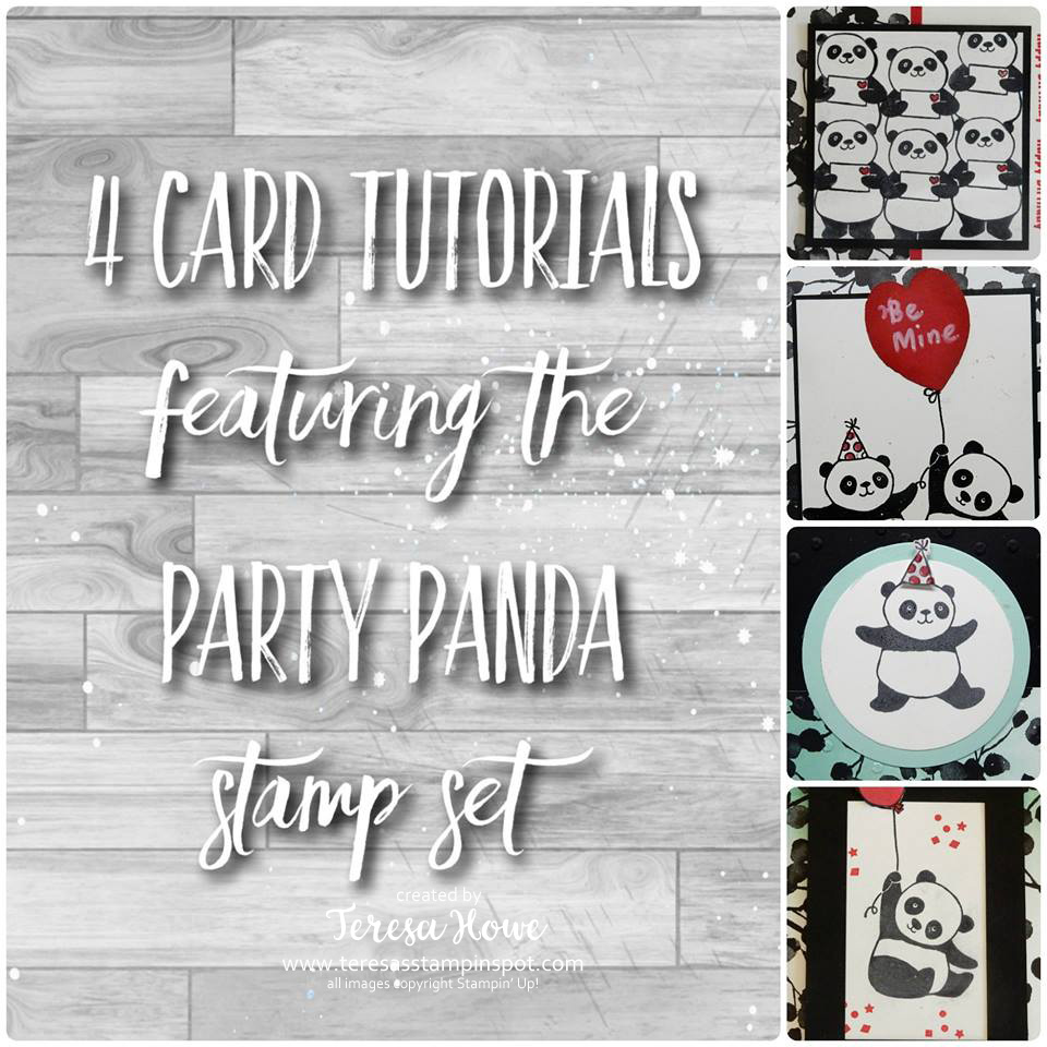 Party Panda, Stampin' Up!, SU!