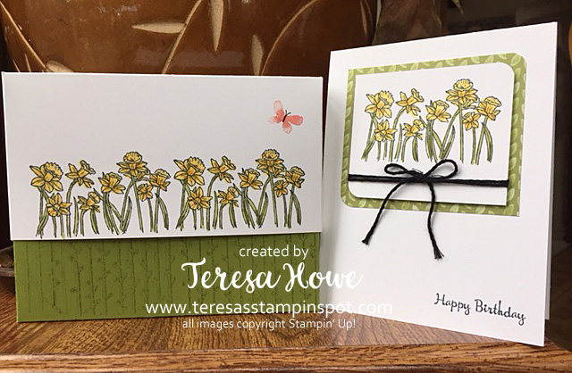 Cards, Spring, Easter, You're Inspiring, Stampin' Up!, SU!
