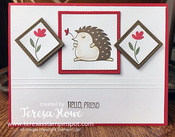 Hedgehugs, Friends, Hello, Stampin' Up!, SU!