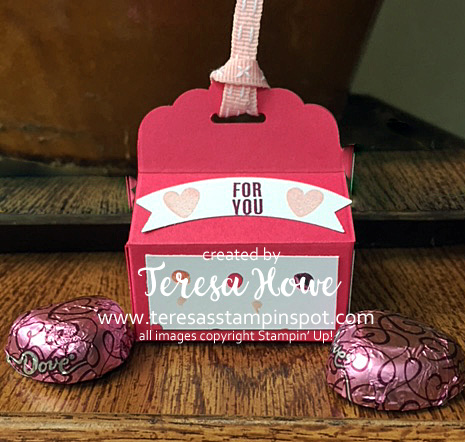 Chocolates, Treat Holder, Valentines, Tabs for Everything, Stampin' Up!, SU!