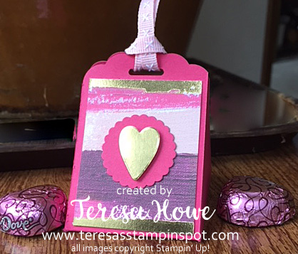 Valentines, Chocolates, Painted Love, Scallop Topper, Stampin' Up!, SU!