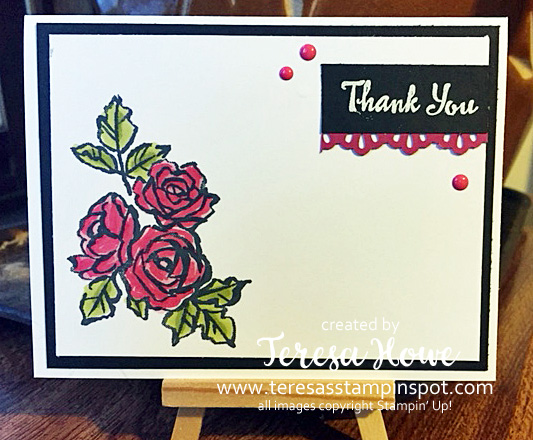 Thank You, Thanks, Petal Palette, Stampni' Up!, SU!, 2018Occasions