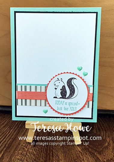 Squirrel, Hedgehugs, SpringtimeFoils, 2018SAB, Stampin' Up!, SU!