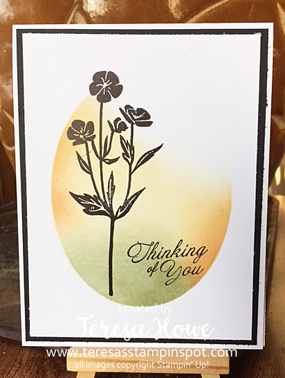 Flowers, Thinking of You, Wild About Flowers, Masking, Die Cuts, Stampin' Up!, SU!