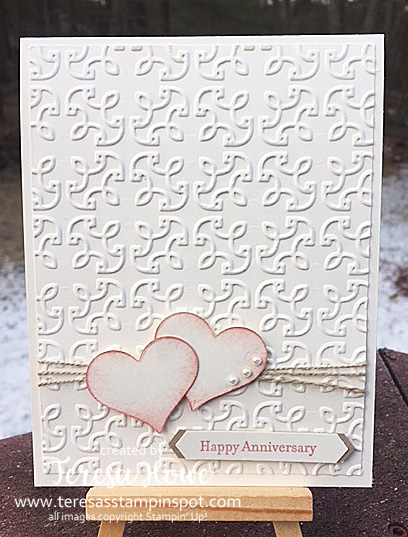 Anniversary, Love, Garden Trellis, Teeny Tiny Wishes, Sweet & Sassy, Stampin' Up!, SU!, #internatiionalprojecthighlights