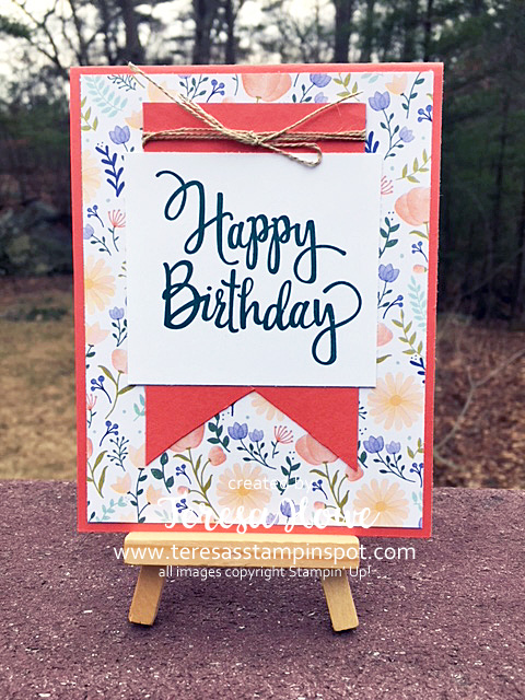 #loveitchopit, DSP, Delightful Daisy, Happy Birthday, Stampin' Up!, SU!