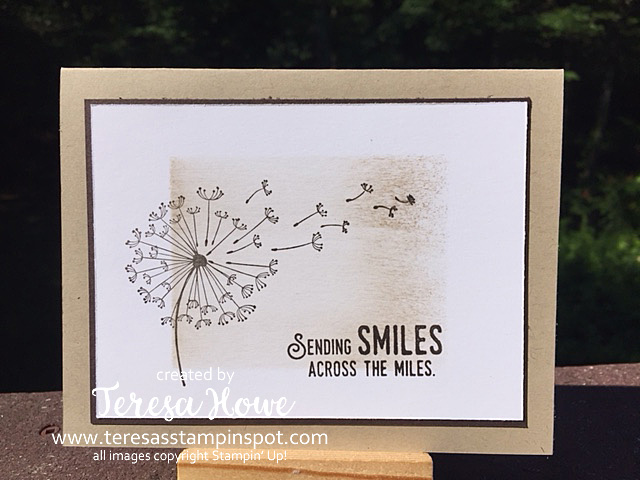 Smiles, Dandelion Wishes, You Lift Me Up, Stampin' Up!, SU!, Masking