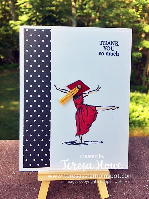 Graduation, Thank You, Beautiful You, Stampin' Up!, SU!
