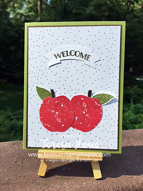 Teachers, Apples, Lemon Zest, Stampin' Up!, SU!