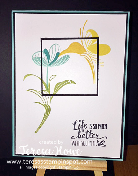Encouragement, Double Time, Peaceful Reflections, Stampin' Up!, SU!, FBLive