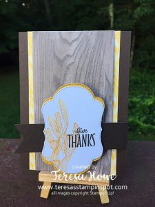 Thanksgiving, Blended Season Bundle, Stampin' Up!, SU!, Fun Fold