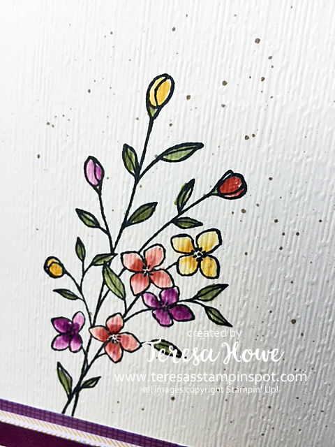 Fall, Flowers, Touches of Texture, Subtly DEF, Stampin' Up!, SU!