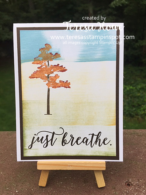 Fall, Rooted in Nature, Direct to Paper, FB Live, Stampin' Up!, SU!