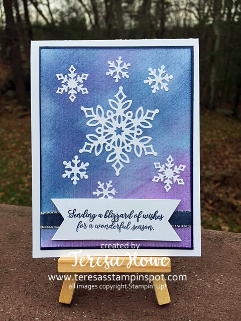 Snow is Glistening, Inset Embossing, Winter, Christmas, Stampin' Up!, SU!