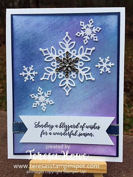 Snow is Glistening, Winter, Christmas, Stampin' Up!, SU!