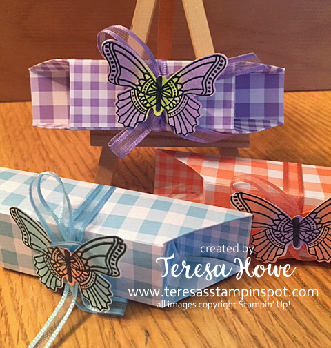 Hershey Kisses, Butterfly Gala, Gingham Gala, Occasions 2019, Stampin' Up!, SU!