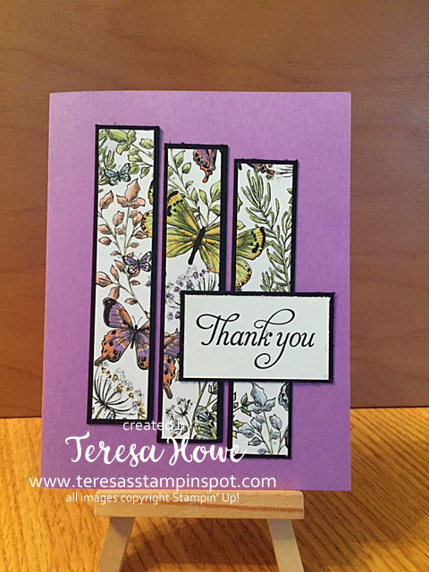 Butterflies, Thanks, 2019 Occasions, 2019 Sale-a-Bration, Humming Along, Stampin' Up!, SU!