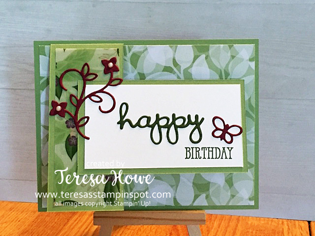 Birthday, Floral Romance, 2019Occasions, Stampin' Up!, SU!