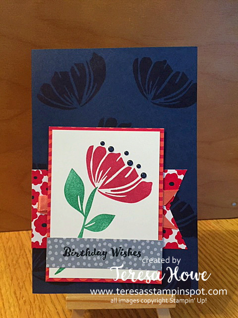 Birthday, Happiness Blooms, Stampin' Up!, SU!
